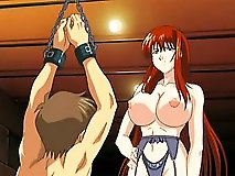 Namu gets her boobs plugged by Yugi Mutou in the classroom